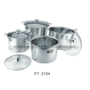 Stainless Steel Stock Pot /Sauce Pot/ Kitchenware (FT-2104)