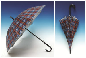 Auto Open Silver Coating Straight Umbrella (SK-008) pictures & photos