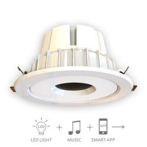 12W Smart Bluetooth Music LED Down Lamp