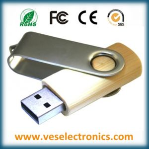 Best Selling Plastic Swivel USB Driver pictures & photos