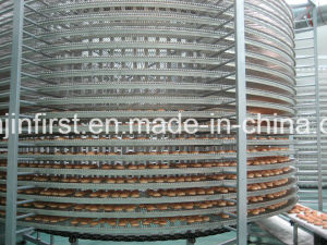 Spiral Cooler for Bread Toast and Hamburger Food Bakery Equipment pictures & photos