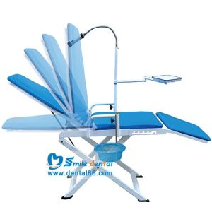 Portable Dental Chair + LED Light with Battery pictures & photos