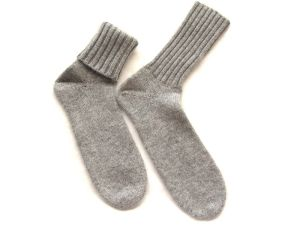 100%Cashmere 5gg Socks pictures & photos