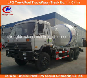10 Wheel Dongfeng Mixer Drum Heavy Duty Concrete Mixer Truck pictures & photos