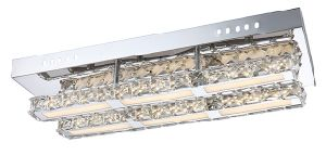 Modern 18W LED Chrome and Crystal Ceiling Lamp (LED-15112-18) pictures & photos