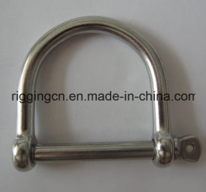 European Type Bow Shackle in Stainless Steel with High Polished Surface pictures & photos