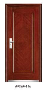 Steel Wooden Door (WX-SW-116) pictures & photos