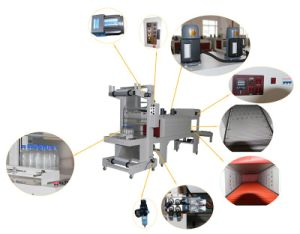 Semi-Automatic Sleeve Shrink Wrapping Machine pictures & photos