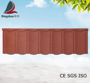 Stone Coated Corrugated Metal Roofing Tile