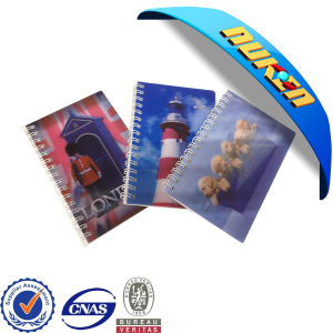 Lenticular Cover Mini Spiral Notebook pictures & photos