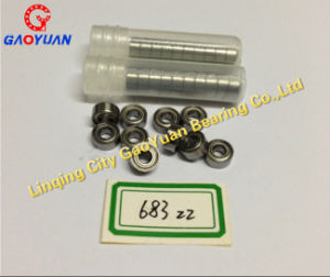 Stainless Steel Miniature Deep Groove Ball Bearing 683 Zz pictures & photos
