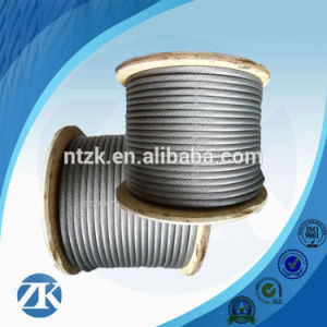 Ungalvanized Steel Wire Rope 6X12+7FC pictures & photos