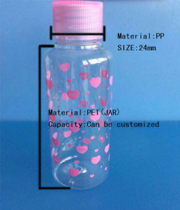 Cosmetic Frosted Plastic Spray Bottle pictures & photos