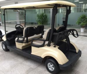 Cheap Electric Golf Cart for 4 Person Made by Dongfeng Motor pictures & photos