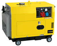 Diesel Generator, Air Cooled, 3kw/3.5kw Silent Type (ADP3500T)