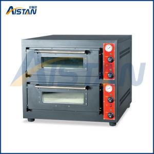 Bsd-202 Stainless Steel 2 Deck -2 Stones Electric Pizza Oven for Kitchenware pictures & photos
