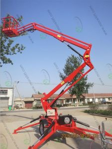 Towed Hydraulic Articulating Boom Lift pictures & photos