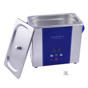 Jewelry Cleaner/Ultrasonic Cleaner Ud100s-3lq with Timer