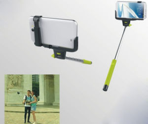 Wireless Bluetooth Extendable Self-Portrait Monopod for iPhone and Samsung pictures & photos