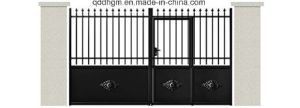 Powder Coated Iron Gate/Metal Gate/Wrought Iron Gate pictures & photos