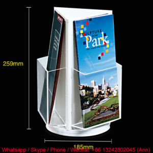 OEM New Design Acrylic Magazine Stand pictures & photos