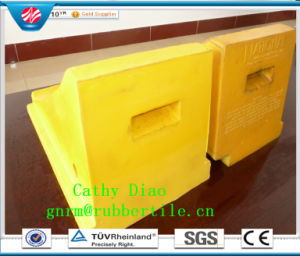 High Quality Rubber Wheel Chock Chocks Wedge Tire Block Safety Chock Rubber Wheel Stopper pictures & photos