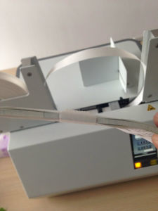 Currency Binding Machine for Wide 50mm Tape Use pictures & photos