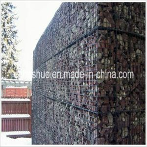 1m*1m*1m Stone Gabion Box (HS-GB) /Hexagonal Woven Iron Wire Mesh pictures & photos