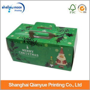 Latest Lovely Takeaway Food Packaging Cake Box with Handle (AZ122007) pictures & photos
