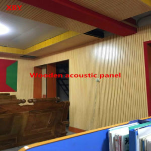 Panel Ceiling Board Wooden Acoustic Panel Wall Panel for Gymnasium pictures & photos