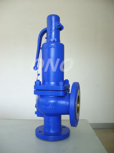 DIN Spring Cast Steel Safety Valve Flange Relief Valve pictures & photos