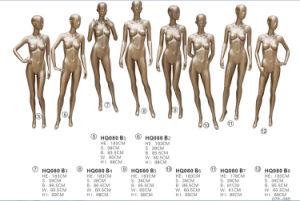 Golden Sexy Fullbody Female Mannequins, Fiberglass Female Mannequins pictures & photos