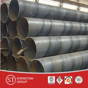 China Supplier API 5L SSAW Carbon Steel Pipe pictures & photos