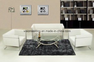 Modern Metal Steel Frame PU Sofa Set (9021) pictures & photos