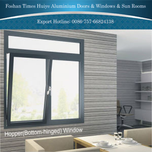 Aluminum Bottom-Hinged Window with Grey Color White Color pictures & photos