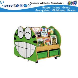 Animal Design Kids Wooden Kids Shelf Bookcase Storage Cabinet (Hc-3706) pictures & photos
