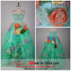 Colorful Wedding/Party Dress (F-249)