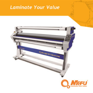 Mefu Best Price Roller Lamination Machine Press Laminating with Cutting pictures & photos