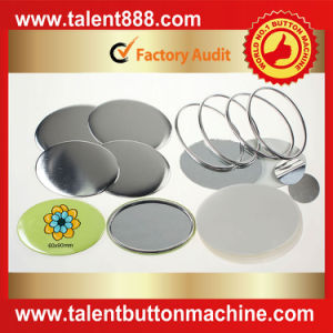 Talent Button Oval 60X90mm Pin Button pictures & photos