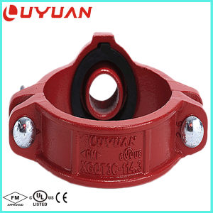 NPT Thread Mechanical Tee with U Bolt Shape for Fire Safety Project pictures & photos