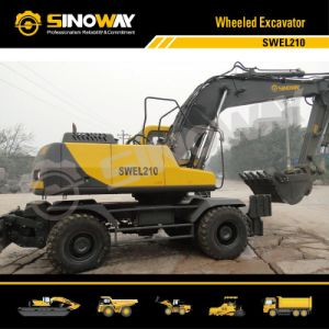 Mobile Excavator with Hydraulic Transmission pictures & photos