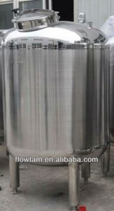 Food Grade Stainless Steel Sanitary Storage Tank pictures & photos