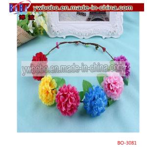 Artificial Flower Headband Floral Headdress Wedding Hairband (BO-3081) pictures & photos