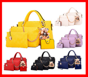 Sites for Buy From China Hot Selling Famous 4PCS in 1 Beautiful Ladies Handbags pictures & photos