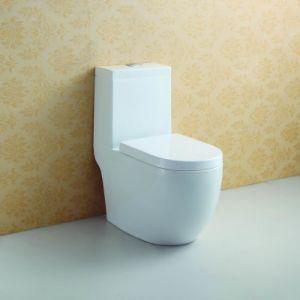 Soft Closing Ceramic Water Closet at-577