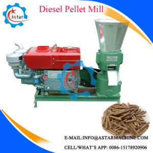 Wood and Animal Feed Flat Die Pellet Machine pictures & photos