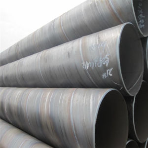 SSAW Spiral Steel Pipe for Fluid Transportation pictures & photos