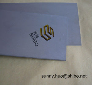 High Purity Tungsten Sheet, Tungsten Plate, W Sheet pictures & photos
