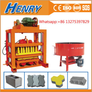 Small Machines for Business Qtj4-40 Interlocking Paving Making Machine for Sale Manual Block Making Machine in Kenya pictures & photos