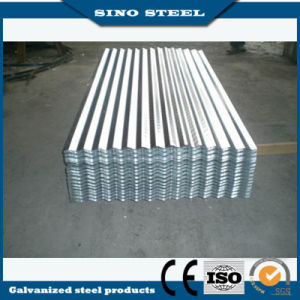 Hot Dipped Zinc Coated Corrugated Steel Sheet pictures & photos